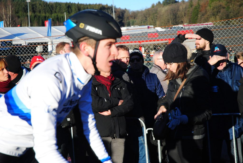 Radsport. Toen Aerts hat den ersten Superprestige Cross gewonnen.