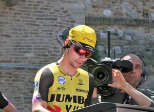 Primoz Roglic gewinnt die Spanien Rundfahrt