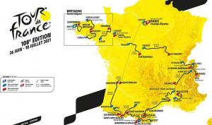 Die Tour de France 2021 startet in Brest