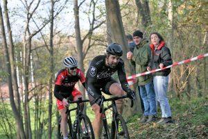 Wout Van Aert wurde nur Vierter beim Cyclo Cross in Boom